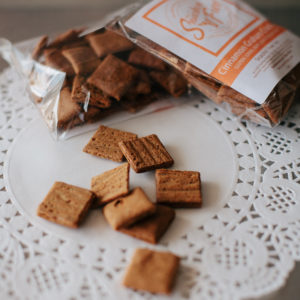 paleo Cinnamon Graham Crackers