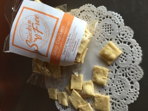paleo soup crackers