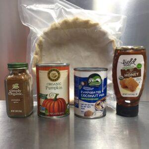 paleo pumpkin pie ingredients