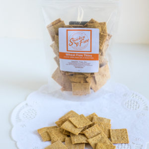 Paleo Wheat-free Thin Crackers