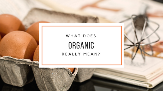 what does organic mean banner