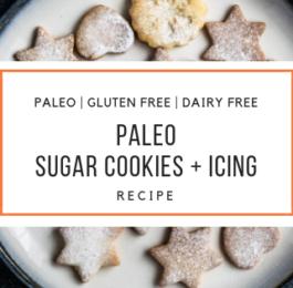 Paleo Sugar Cookies and Icing Recipe_Snackin Free_Paleo Recipes
